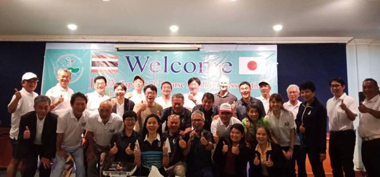 Welcome to Pattaya thailand  What a wonderful first networking day March 11-12 between the japan Golf employers association and EGA Thailand  They learn and and experience Thai taste Pattaya Golf destination.