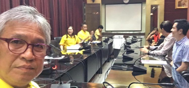 การประชุมความพร้อมยกที่หนึ่ง ยกที่สองเวลาบ่ายสามเมืองพัทยา เป็นครั้งแรกที่ จังหวัด อบจ ททท สมาคมโรงแรม ธุรกิจ แหล่งท่องเที่ยวชลบุรีพัทยา ร่วมเดินทางไปกับEGA thailand สมาคม ผู้บริหารสนามกอล์ฟภาคตะวันออก 12-17 May,2019