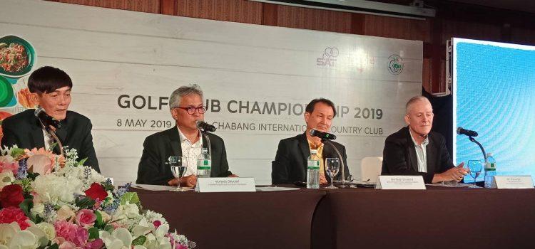 ขอขอบคุณ ผู้เข้าร่วมงานเสวนาเชิงวิชาการการพัฒนาอุตสากรรมกอล์ฟที่ยั่งยืน โดยมีการกีฬาแห่งประเทศไทยให้การสนับสนุน ร่วมกับการท่องเที่ยวแห่งประเทศไทย Asian Golf industry federation สมาคมผู้บริหารสนามกอล์ฟภาคตะวันออกสมาคม 19สมาขิกโรงแรมพัทยาTHA Agent และแคดดี้กว่า170ท่าน เป็นการรวมพลังหน่วยงานเครือข่ายที่เกี่ยวข้องกับอุตสาหกรรมกอล์ฟเป็นหนึ่งเดียวทั้งภาครัฐและภาคเอกชน Presented by EGA Thailand  Lamchabang international