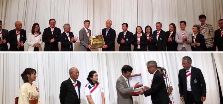 ต้องขอขอบพระคุณทุกๆท่าน ที่ได้มาร่วมการแข่งขันกระชับมิตรไทยญี่ปุ่น EGA /MIE Golf friendship ที่ประเทศญี่ปุ่นครั้งที่ที่ 4 โดยมีการร่วมมือระหว่างภาครัฐภาคเอกชนเพื่อการส่งเสริมอุสาหกรรมการท่องเที่ยวและการท่องเที่ยว โดยมีรองผู้ว่าราชการจังหวัดมิเอะได้พบรองนายกอบจจังหวัดชลบุรี ประธานหอการค้าจังหวัดมิเอะพบกพบปลัดเมืองพัทยา นายกสมาคมกอล์ฟมิเอะพบกับนายกสมาคมกอล์ฟภาคตะวันออกแบบเมืองต่อเมืองจังหวัดต่อจังหวัดเป็นครั้งแรก มิเอะนับร้อยจะมาเยือนเราในเดือนตุลาคม นี้แน่นอน EGA Thailand
