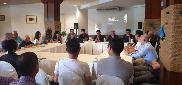 ความสามัคคีคือความแข็งแกร่ง ครั้งแรกกับการพูดคุยกอล์ฟ.. การประชุมกอล์ฟ.. เรากำลังเน้นวิธีโปรโมทพัทยาประเทศไทยให้เต็มที่สำหรับการขึ้น ไฮซีซั่น 2019-2020 ขอขอบคุณบริษัทการท่องเที่ยวแห่งประเทศไทยและบริษัทบริหารปลายทางของเราที่ได้ขายการตลาดอย่างสุดความสามารถเฉพาะประเทศไทยไปยังอเมริกายุโรปเอเชียและ australiasia ประเทศไทยประเทศไทย