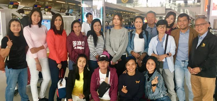 EGA Thailandได้พานักกอล์ฟแคดดี้ไทยที่ ฝีมือดีบุคลิกดีและโชคดีได้ไปทัศนศึกษาและดูงานที่ประเทศเวียดนามเมืองด่าหลัต 5-8 ตุลาคม โดยมีกรรมการของสมาคมฯ และ บริษัทtop Golf ให้การสนับสนุนและดูแลน้องน้องตลอดการเดินทาง