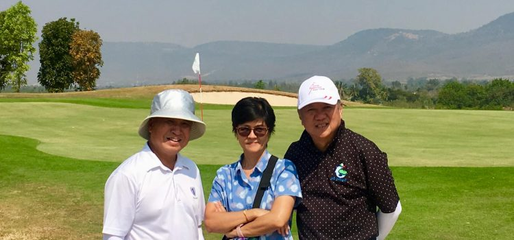 EGA members had been invited by Gm Pittivat Pattanan to newly finished 18-hole My Ozone Golf and wellness & luxury resort Excellent layout,breathtaking view and Challenging to all handicap… EGA Thailand
