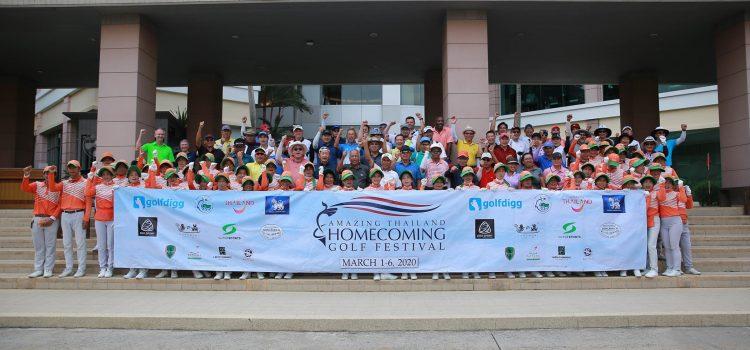 ภาพบรรยากาศ และผลการแข่งขัน Amazing Thailand Homecoming Golf Festival 2020 @ Pattana Golf Club & Resort (Day 3)