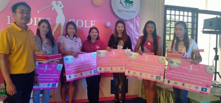 ผลการแข่งขัน และภาพบรรยากาศการแข่งขันกอล์ฟ Amazing Thailand EGA-TAT Pattaya Ladies Golf Championship 2020 @ สนามบางพระ อินเตอร์เนชั่นแนล กอล์ฟ คลับ (วันพฤหัสที่ 30 กรกฏาคม 2563)